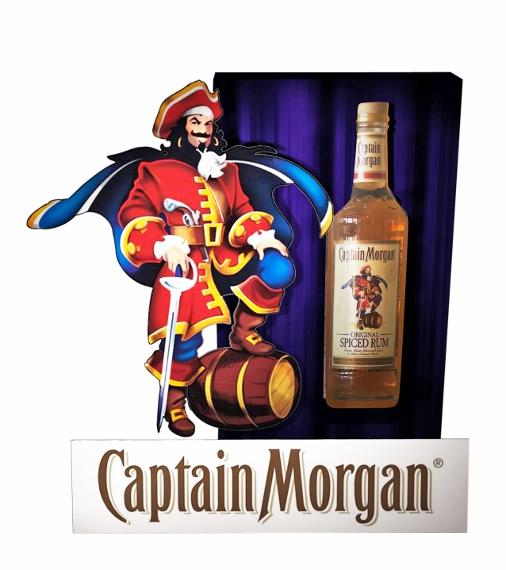 Captain Morgan temporary display